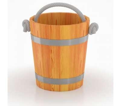 Ведро для бани Bentwood 15 литров