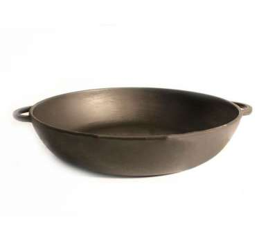 Сковорода чугунная сотейник  260х60 без ручки