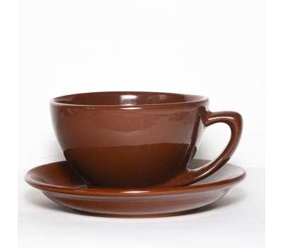 Купить чайную пару глиняную 250 мл. в Москве