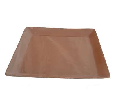 Керамическая тарелка квадратная 220х220