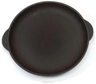 Чугунная сковородка с ушками 180х20