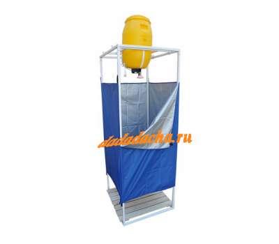 Душевая кабина односекционная с баком 60 литров