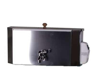 Бак водонагревательный для умывальника хром. 20 литров