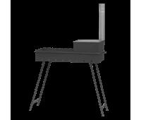 Мангал М90К с печью под казан