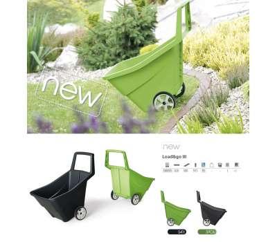 Тачка садовая пластиковая LOAD & GO III